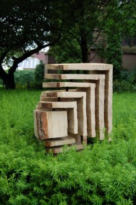 Luuk van Binsbergen Partly surrounded cube (2) (Medium)