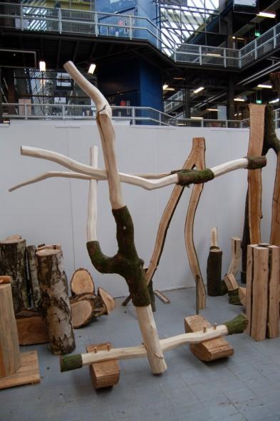 Balancing white oak