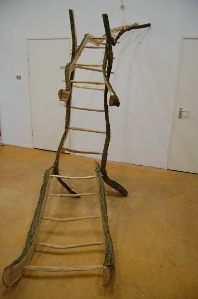 Useless ladder to nowhere